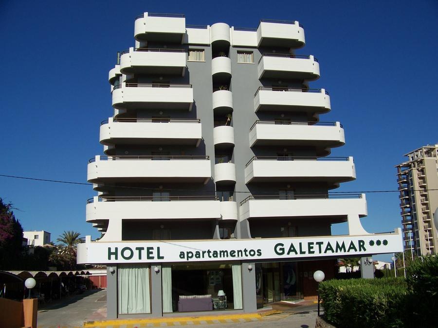 Hotel y bungalows ar galetamar en calpe costa blanca for Piscinas calpe