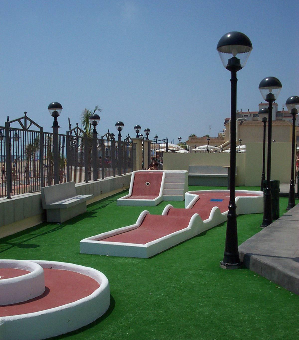 Jardines del plaza em pe iscola costa de azahar - Jardines del plaza peniscola ...