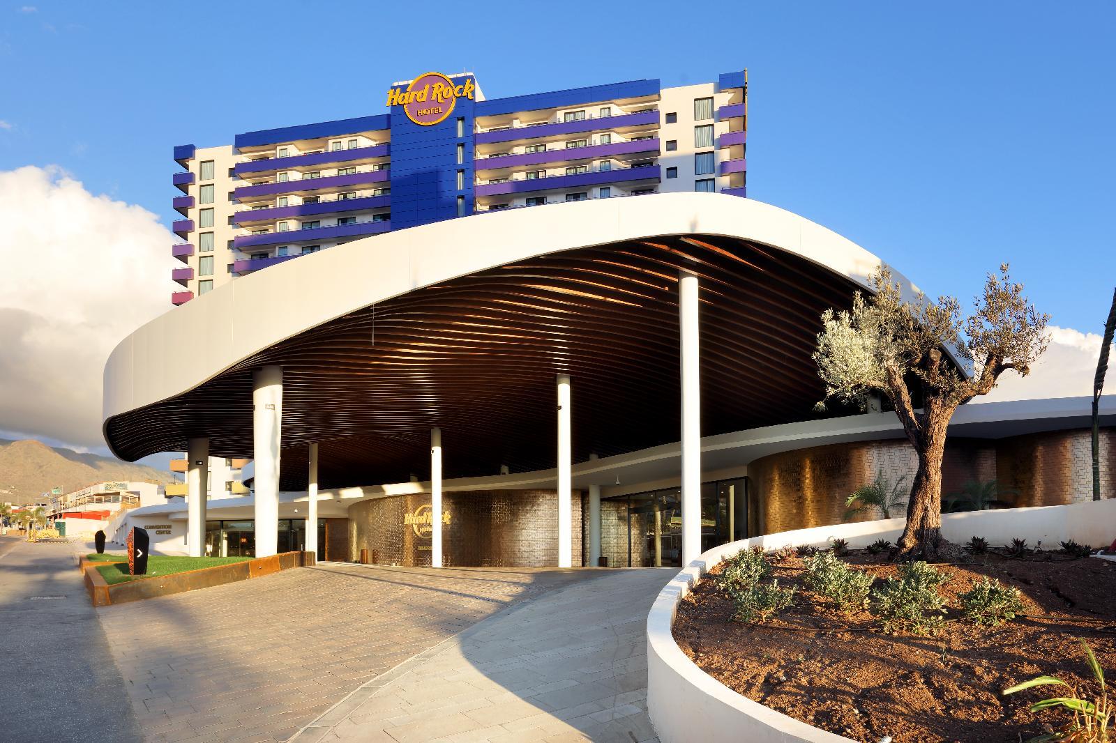 Resultado de imagen de hotel hard rock tenerife