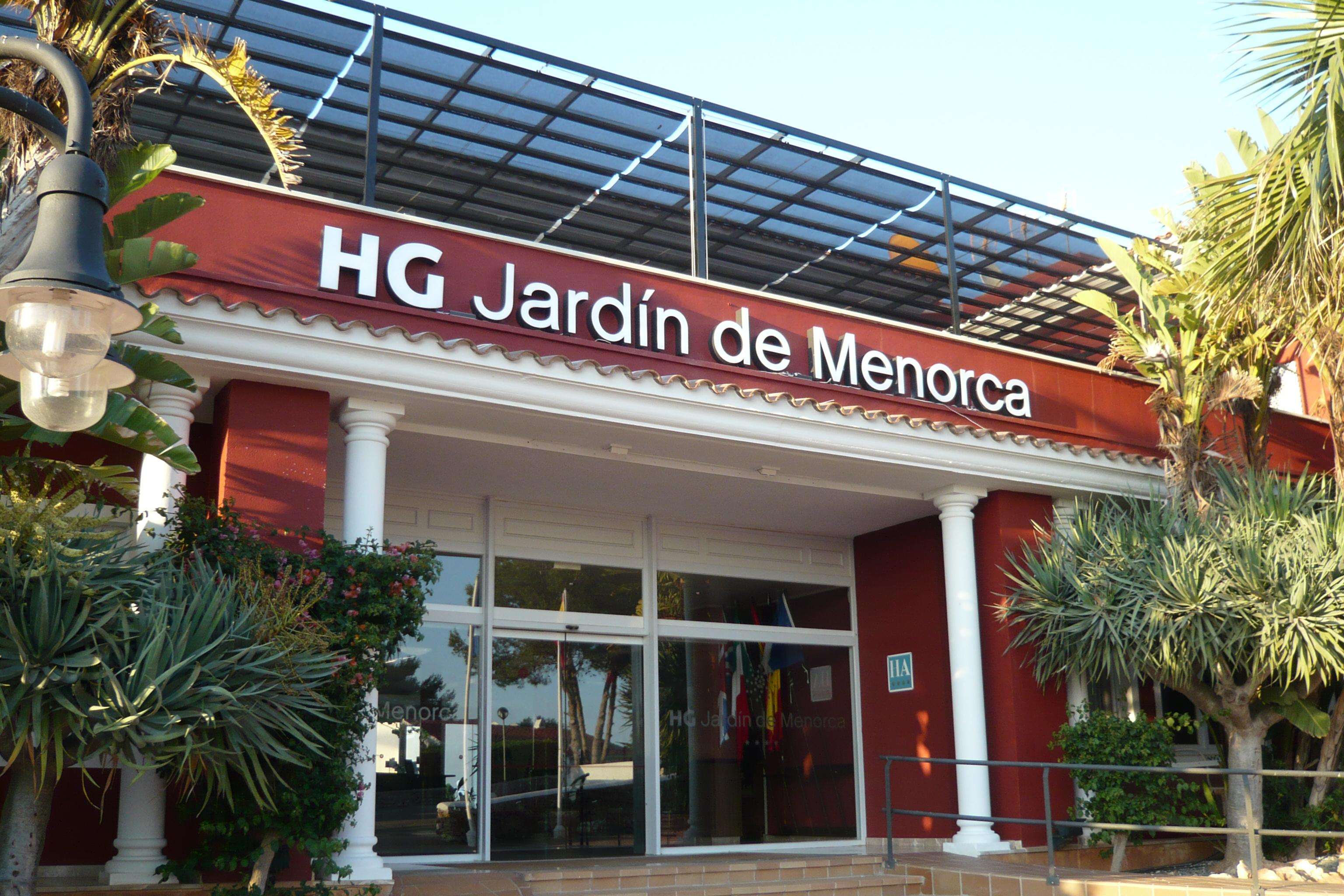 Aparthotel HG Jardin de Menorca en San Jaime Mediterr neo Menorca