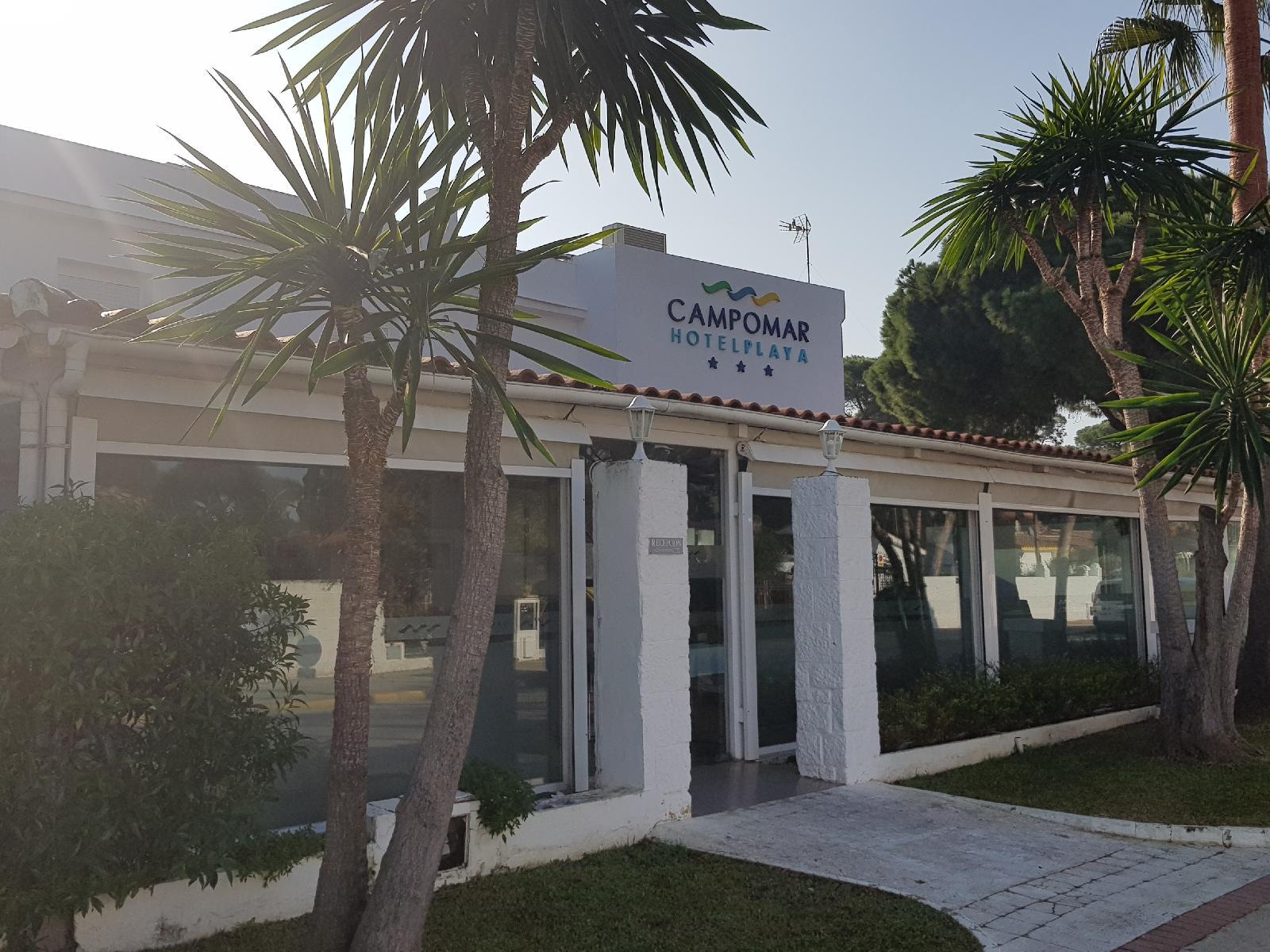 Hotel campomar playa en el puerto de santa mar a costa - Hotel campomar el puerto de sta maria ...