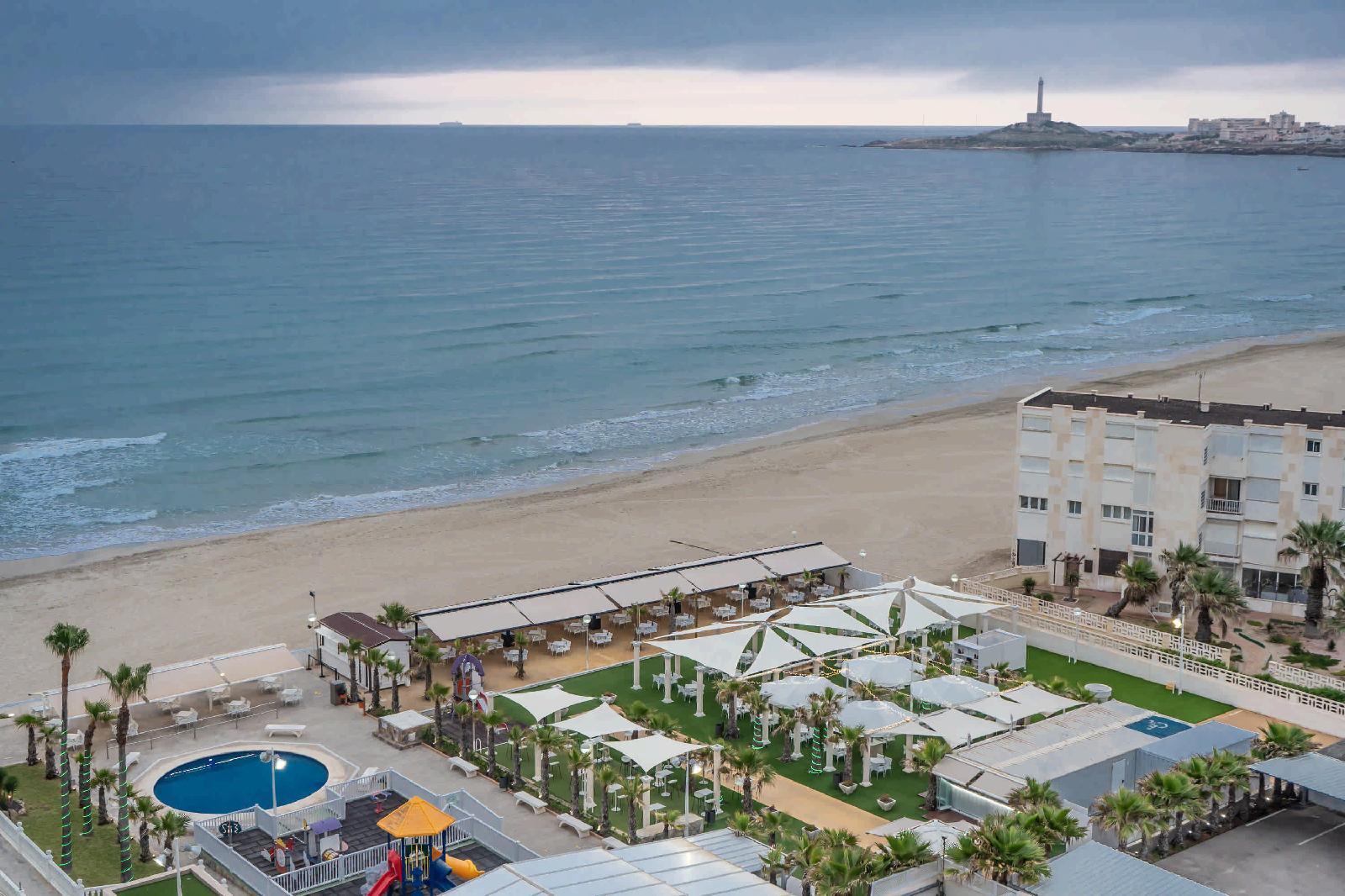 Hotel Entremares Termas Carthaginesas en La Manga del mar Menor